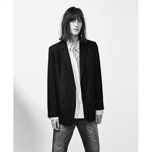 Zara Studio XS-S Oversized Blazer